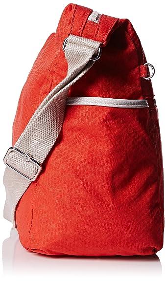 Kipling ALENYA, Bandolera para Mujer, Rosa (Dots Coral Rose), 32x32x14.5 cm: Amazon.es: Zapatos y complementos
