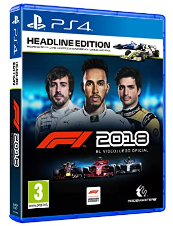 F1 2018 Headline Edition Playstation 4 Amazon Es Videojuegos