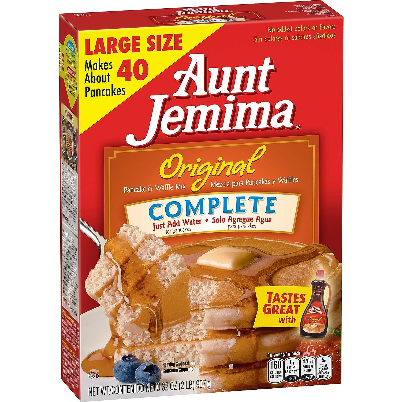 Aunt Jemima Original Pancake & Waffle Mix 2lbs. - 2 boxes