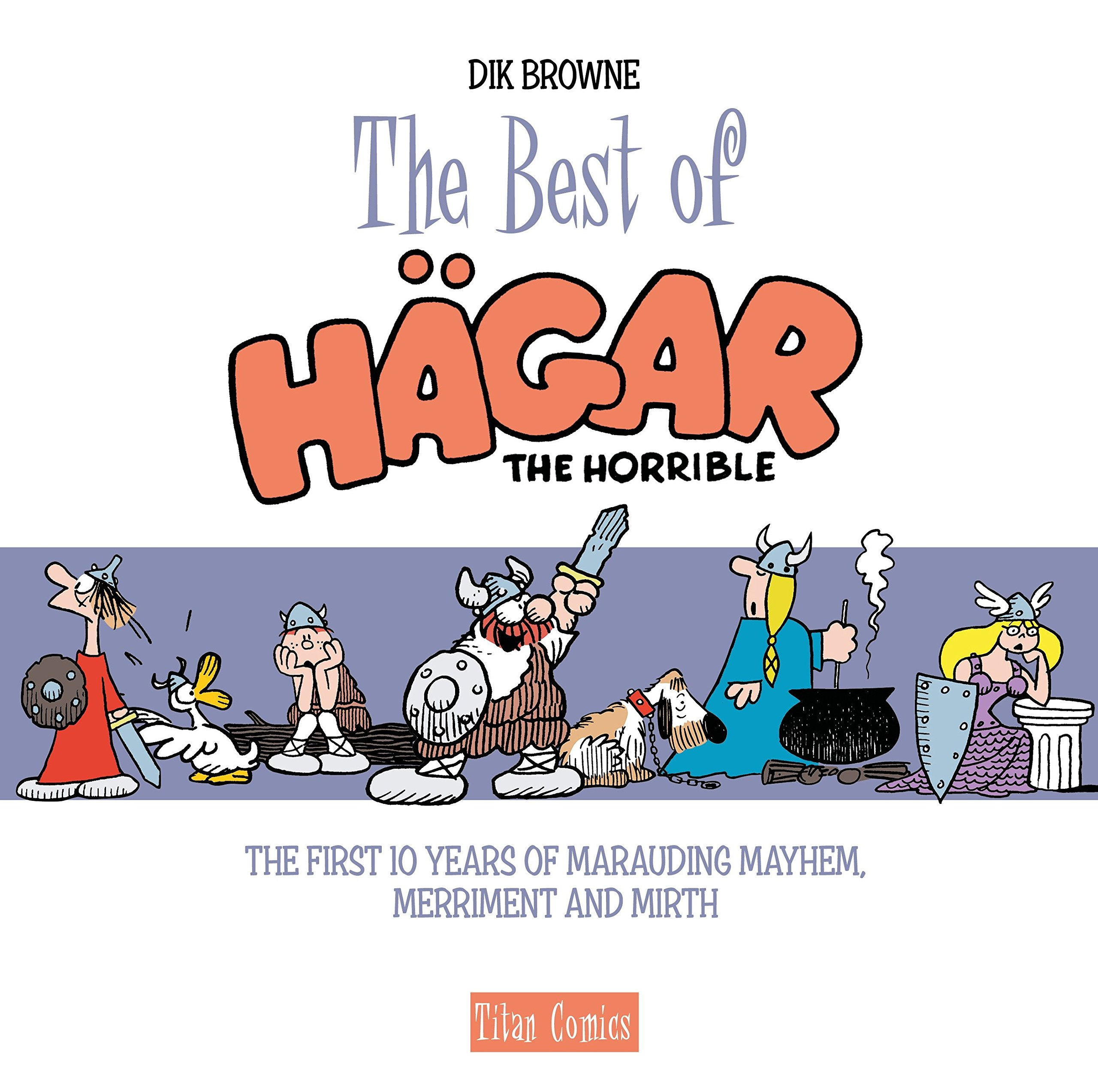 Download The Best of Hagar the Horrible (the first 10 years) pdf