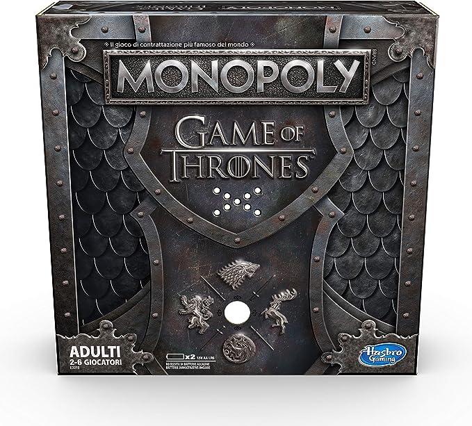 Hasbro E3278 Monopoly Juego de Tronos, Juego para Adultos, 2-6 Jugadores (edición en Italia): Amazon.es: Juguetes y juegos