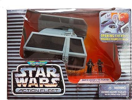 Star Wars Action Fleet Darth Vader/'s Tie Fighter avec Vader Mini Figure