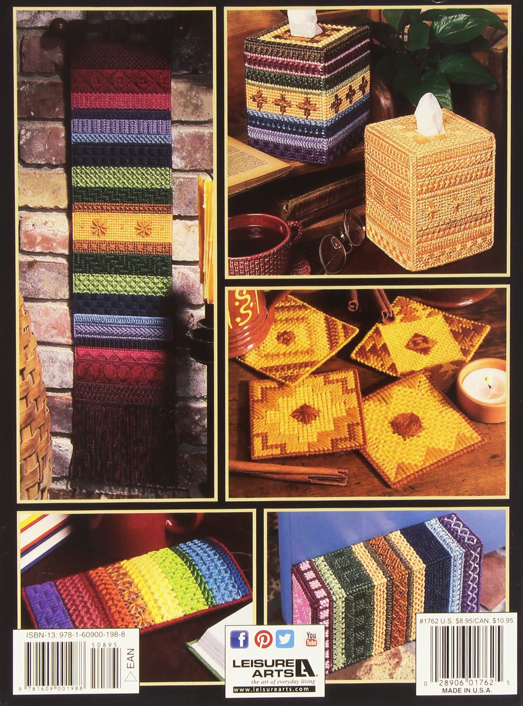 Plastic Canvas Stitch Dictionary: Your Complete Guide to Making 113 Stiches