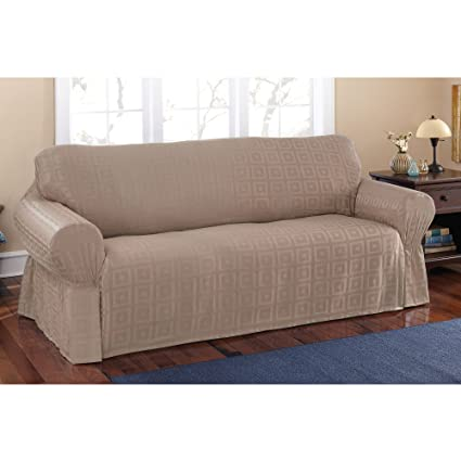 Pleasant Amazon Com Mainstays Sherwood Slipcover Sofa Home Kitchen Camellatalisay Diy Chair Ideas Camellatalisaycom