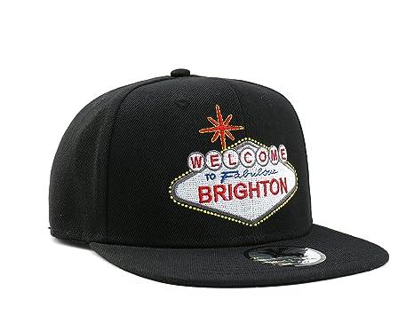 Metro Kulture Bienvenido a Brighton Snapback Gorra de béisbol ... dd8dd3797f8