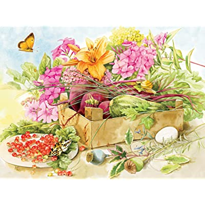 Ceaco Marjolein Bastin - Summer Flowers Puzzle - 300 Pieces: Toys & Games