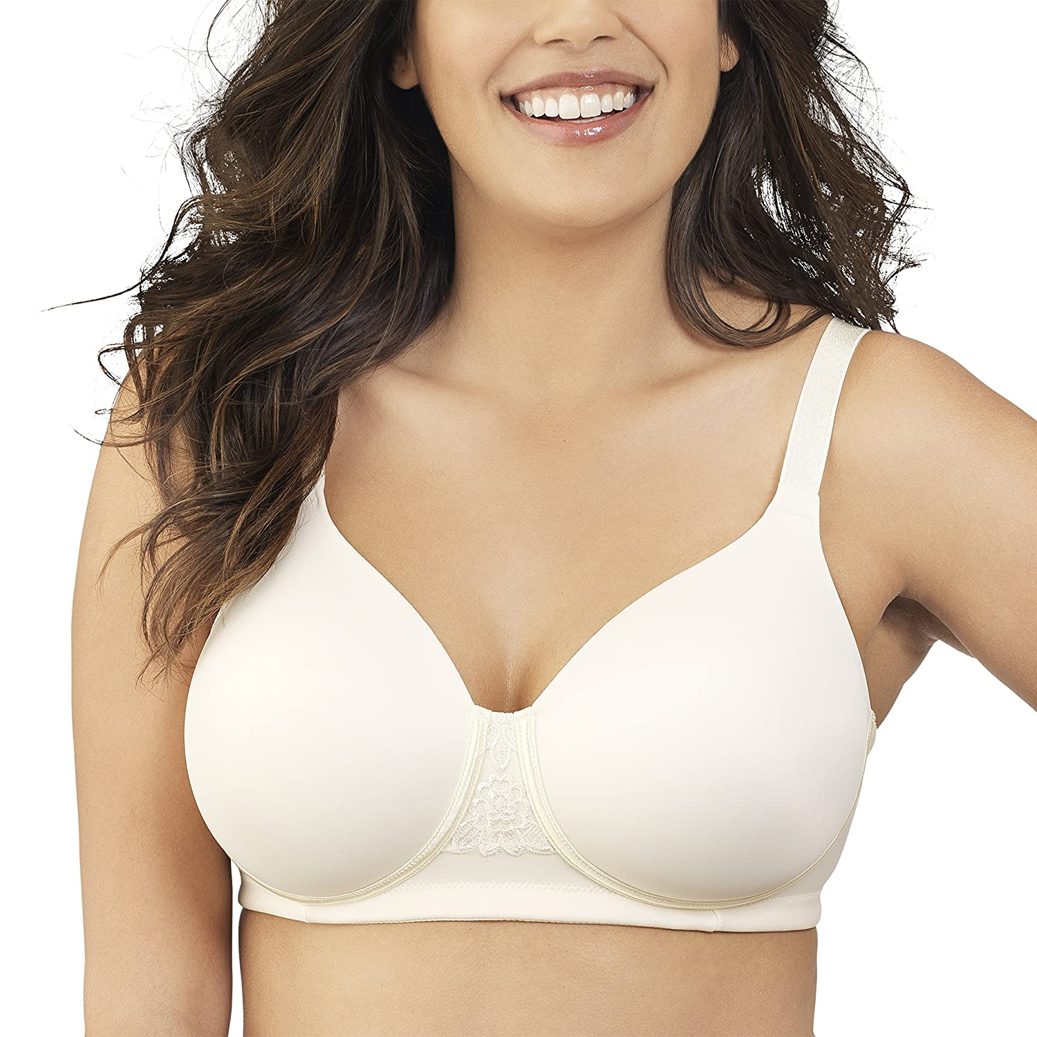 Vanity Fair Women's Beauty Back Full Figure Wirefree Bra 71380, Ivory, 38C:  Amazon.co.uk: Clothing