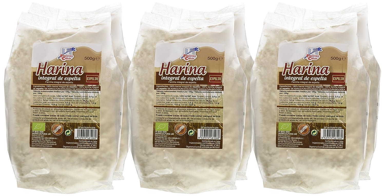 La Finestra Sul Cielo Harina Integral de Espelta - Paquete de 6 x 500 gr - Total: 3000 gr: Amazon.es: Alimentación y bebidas