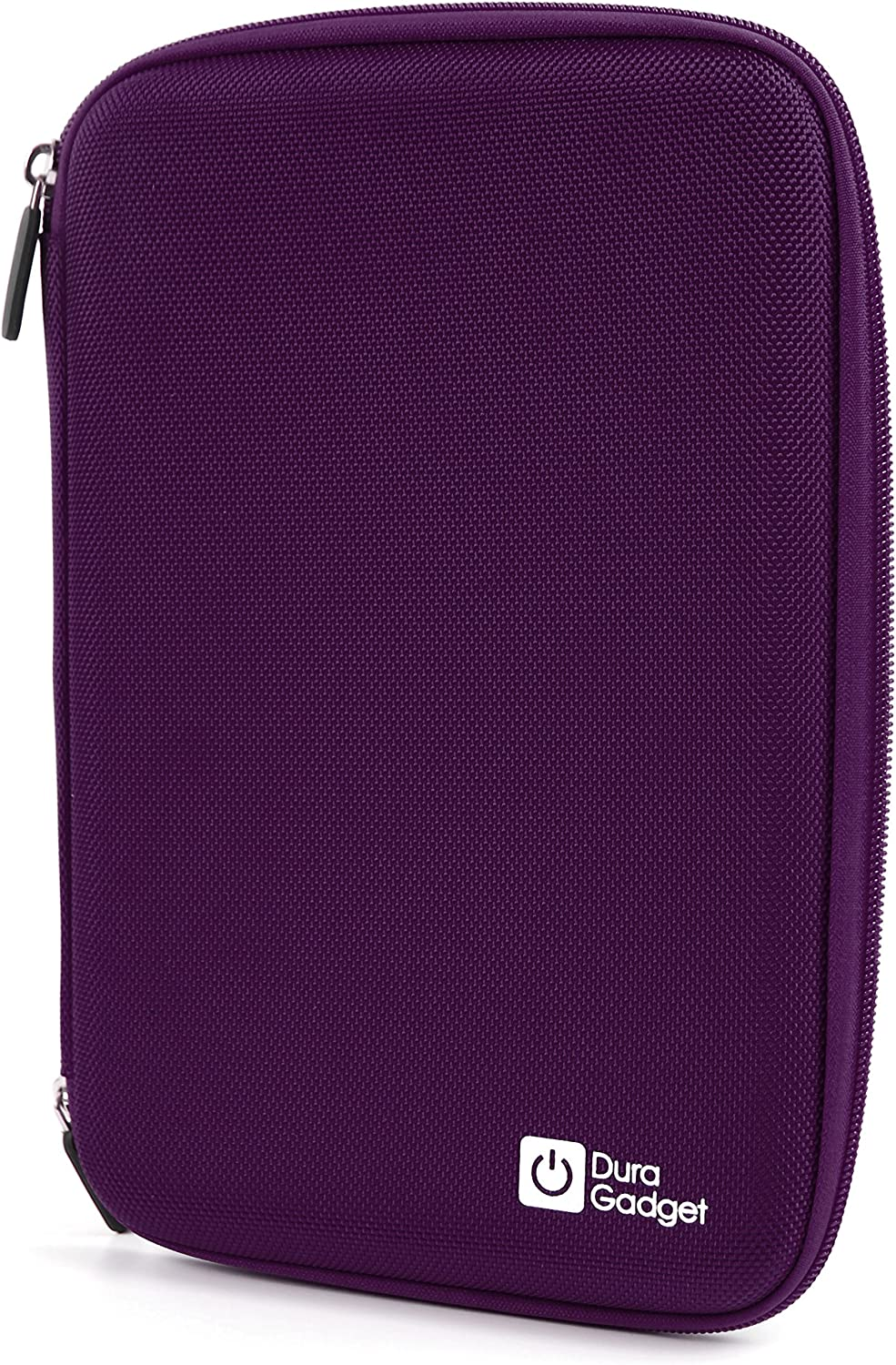 DURAGADGET Purple Rigid Protective Zip Armoured Case with Soft Inner Lining /& Netted Pocket for The Clempad XL
