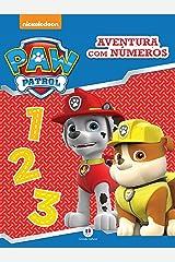 Patrulha Canina - Aventura com números Canoa, Grampeado ou Costurado