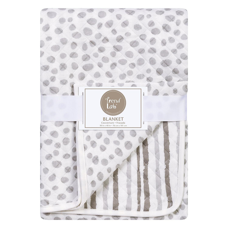 Trend Lab Gray Cloud Knit Blanket