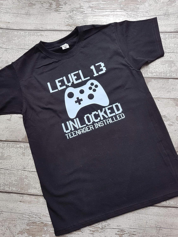 13th Birthday Gamer T-Shirt Online Gamer Gift For Geek Girls Tshirt