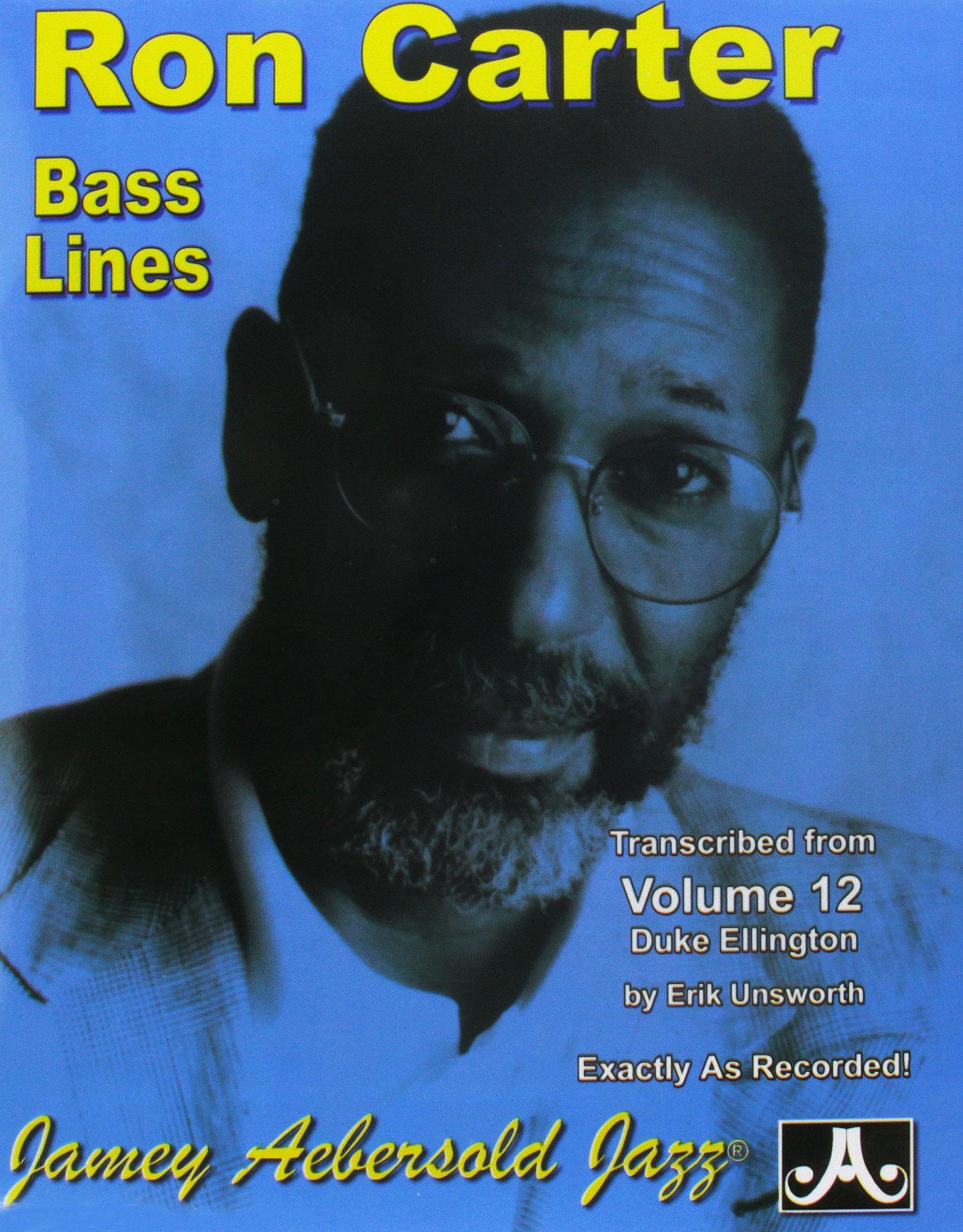 Bass Lines Aebersold 12 Duke Ellington By Ron Carter: Amazon ...