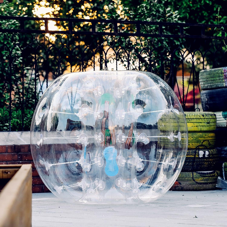 Popsport バブルサッカー用バンパーボール 4フィート/5フィート 0.8mm 環境に優しいPVC製 大人&子供用 B072K1VNC5 4FT 4FT