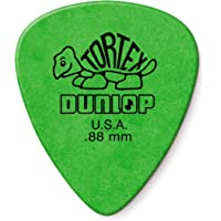 Dunlop Tortex Standard .88mm Green Guitar Pick - 12 Pack