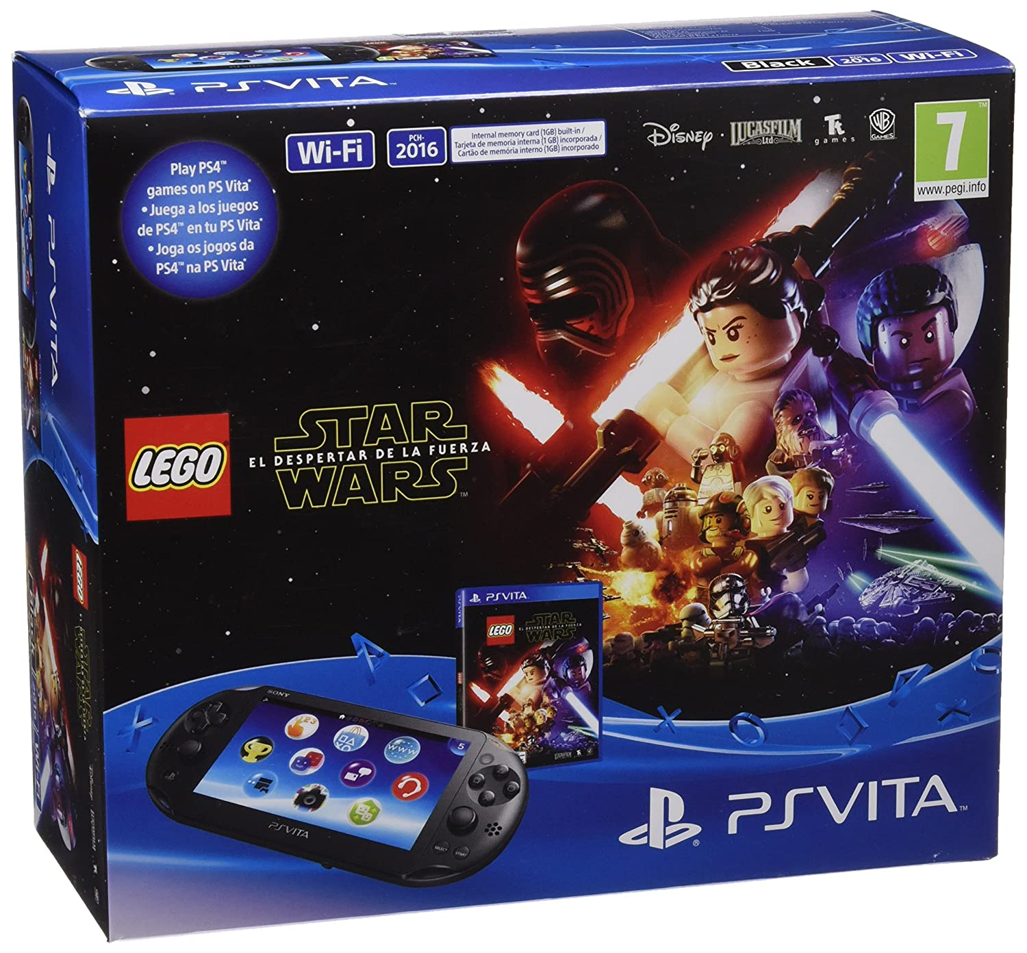 PlayStation Vita - Consola + LEGO Star Wars: Amazon.es ...