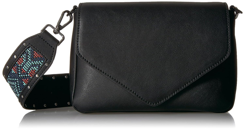 b1c77d563b Amazon.com: The Fix Kellsy Convertible Guitar Strap Crossbody Bag, Geo  Print Multi: Clothing