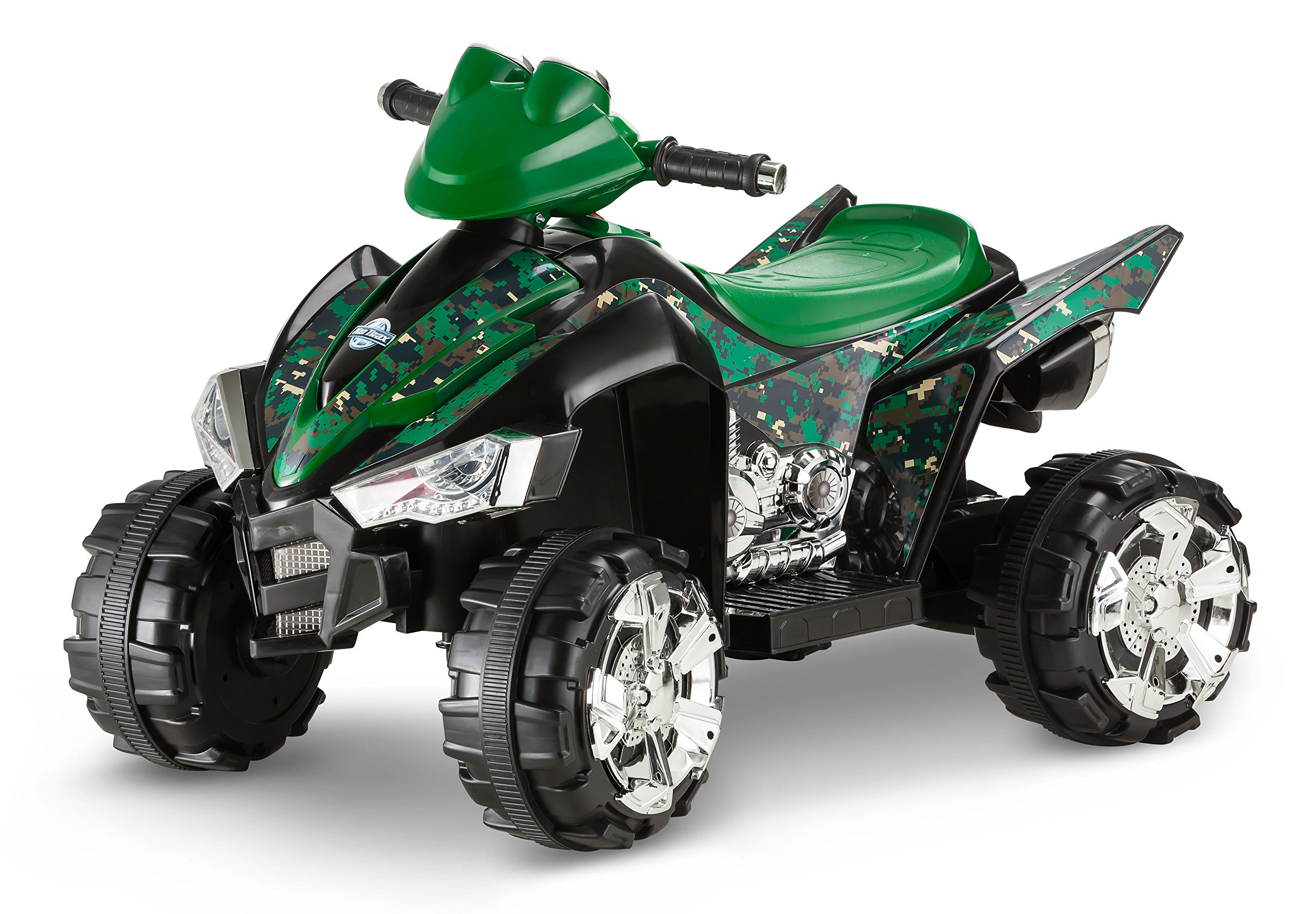 Kid Trax 6V Camo Quad Ride On by Kid Trax