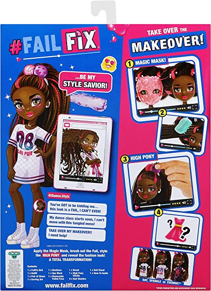 FailFix makeover fashion dolls toy for kids