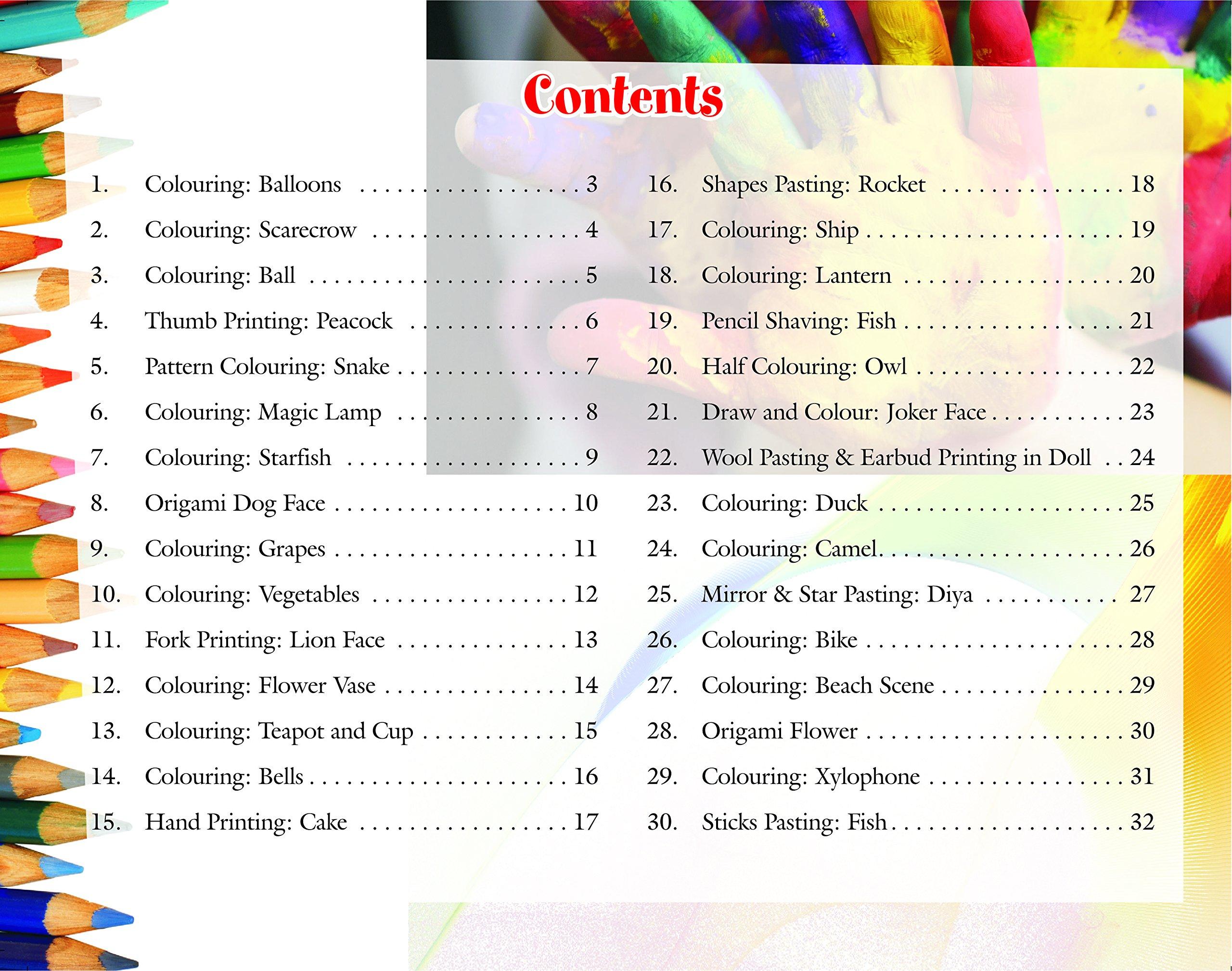 Buy Kid's Activity Pack For Kindergarten (Nursary, LKG & UKG