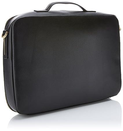 Calvin Klein Frame Laptop Bag, Sacs pour ordinateur portable femme, (Black), 5x27x38 cm (B x H T)