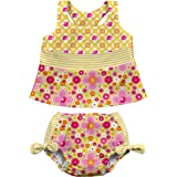 I Play Baby 713071 407 Tankini Bikini Bebek Takım, Sarı