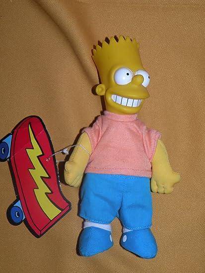 Amazon Com Simpsons Burger King Bart Plush Toys Games