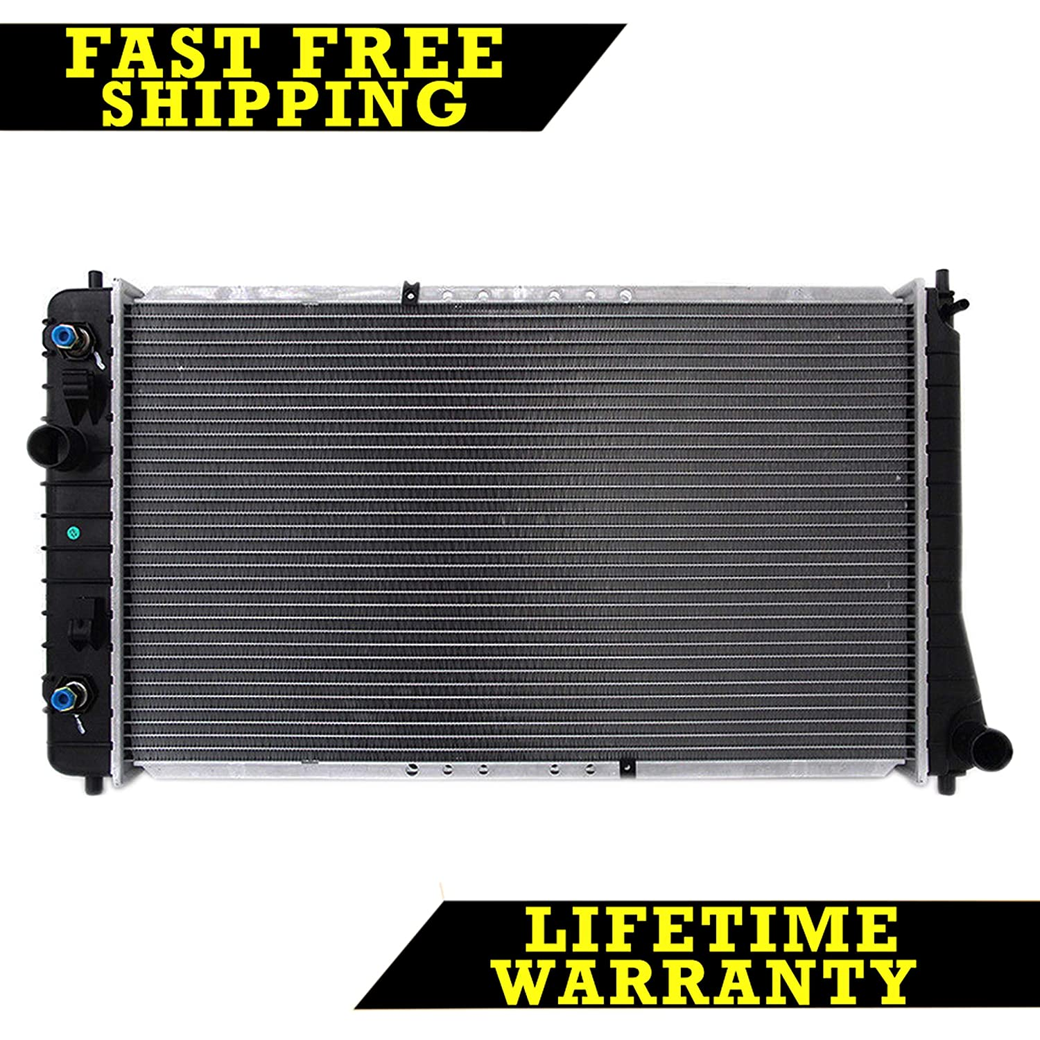 Amazon.com: RADIATOR FOR PONTIAC CHEVY FITS CAVALIER SUNFIRE 2.2 2.4 2.3 L4  4CYL 1687: Automotive