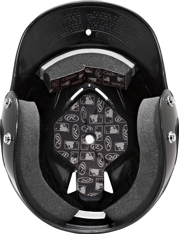 Rawlings Coolflo Nocsae Batting Helm schwarz one Size