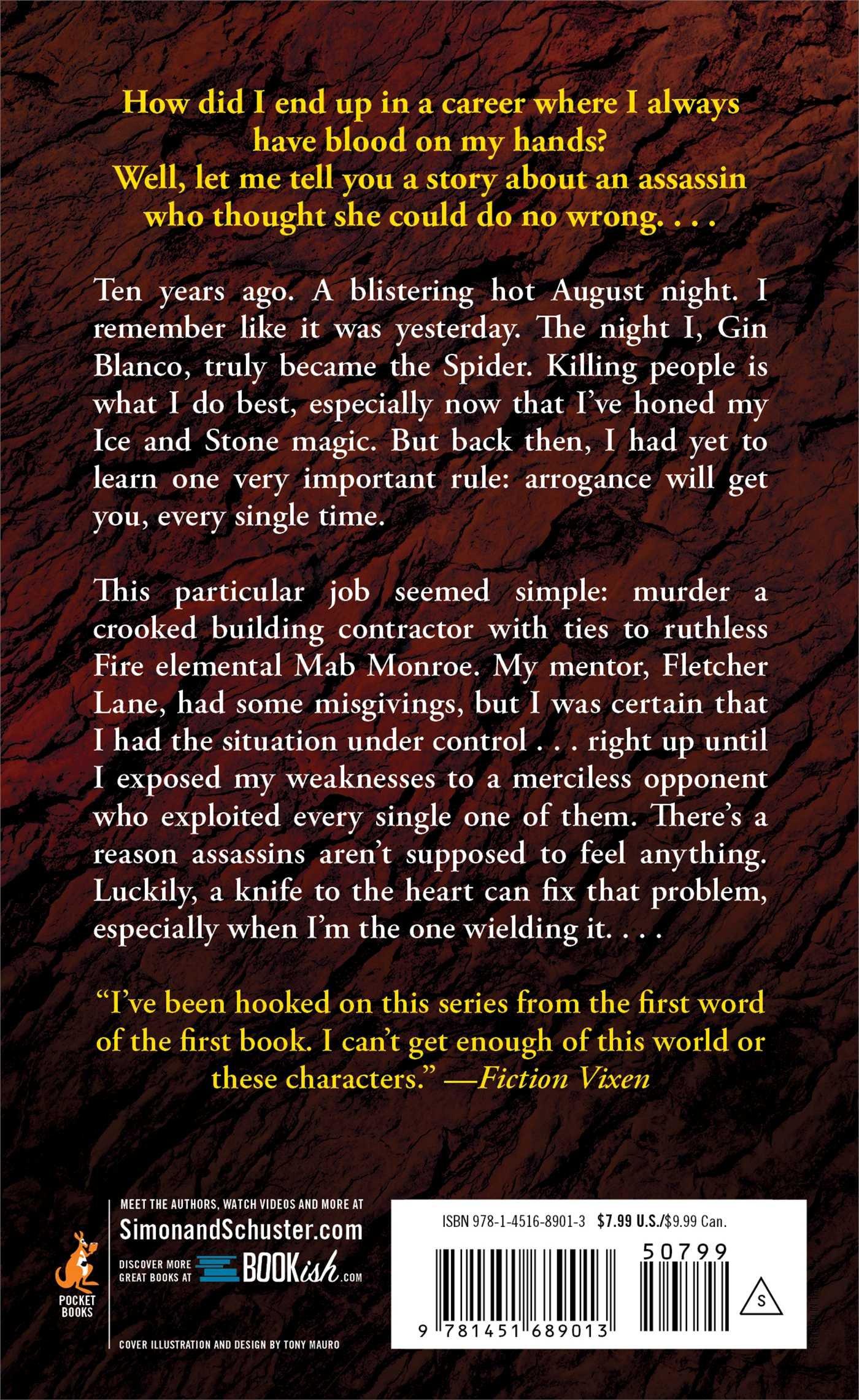 The Spider (elemental Assassin): Jennifer Estep: 9781451689013: Amazon:  Books