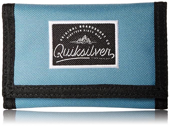 Quiksilver Sidewalk - Cartera para hombre - Azul - talla única: Amazon.es: Ropa y accesorios