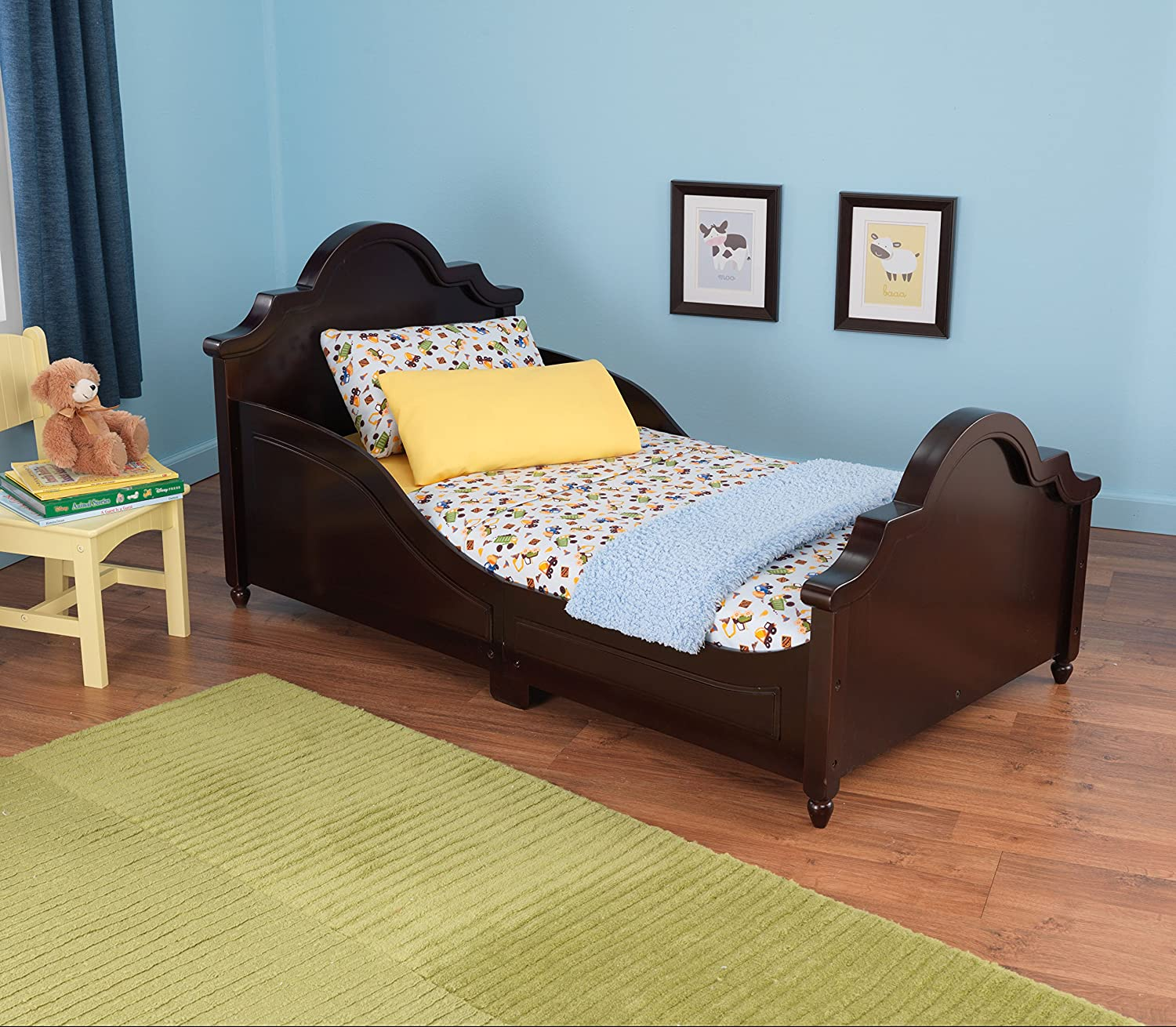 Amazon KidKraft Raleigh Bed Espresso Toys Games