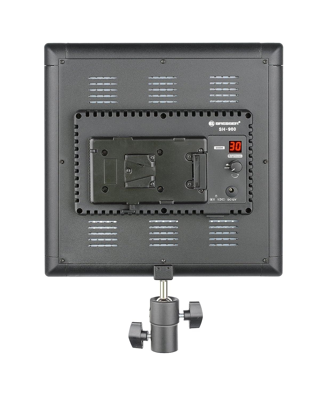 Bresser F001802 SH-900 Slimline LED Fl/ächenleuchte 54 Watt, 8400LUX