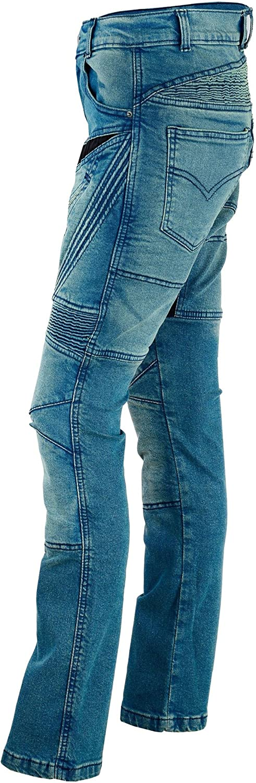 Bangla Damen Motorrad Hose Motorradhose Jeans Denim mit Protektoren blau 30 inch 30