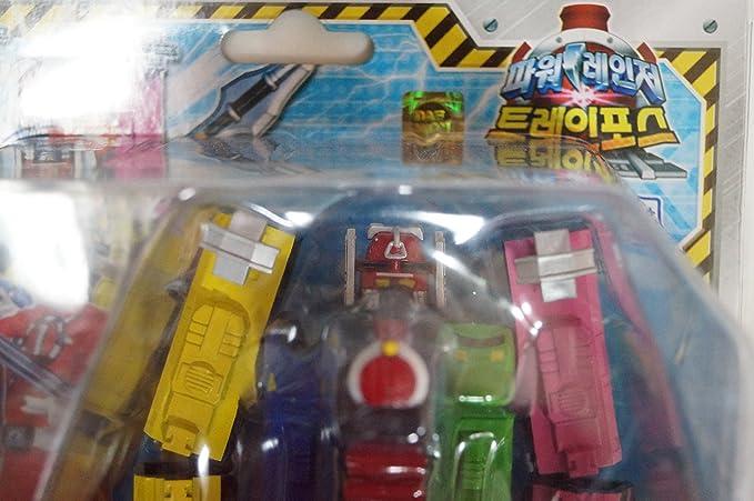 Ressha Sentai ToQger POWER RANGERS TRAIN FORCE ToQ-Oh TRAIN MEGAZORD XIFU