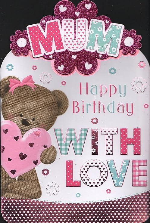 Madre Tarjeta de cumpleaños - de cumpleaños para mamá ...