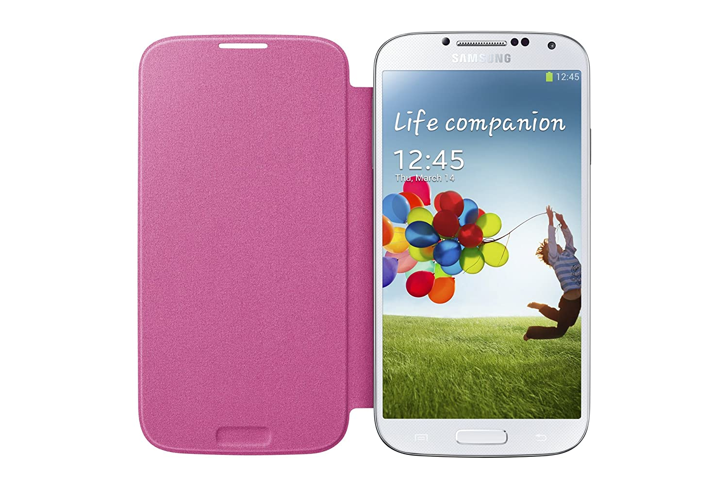 Amazon samsung galaxy s4 flip cover folio case pink cell amazon samsung galaxy s4 flip cover folio case pink cell phones accessories ccuart Image collections