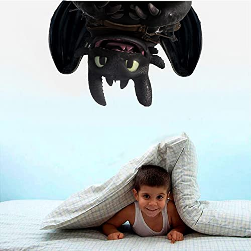 Toothless How To Train Your Dragon Hanging Upside Down Laptop Car 3d Wall Decal Sticker 7 14 18 24or 36 14 18 24or 36 Christmas Presents
