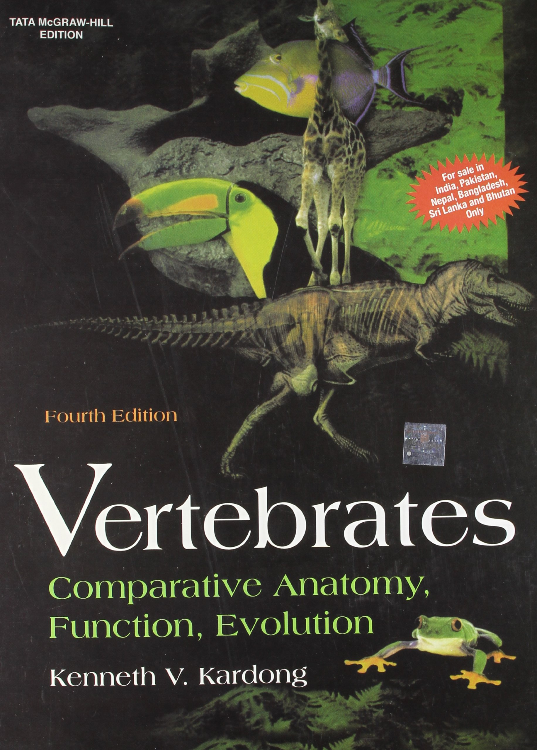 Vertebrates: Comparative Anatomy, Function, Evolution 4th Edition ...
