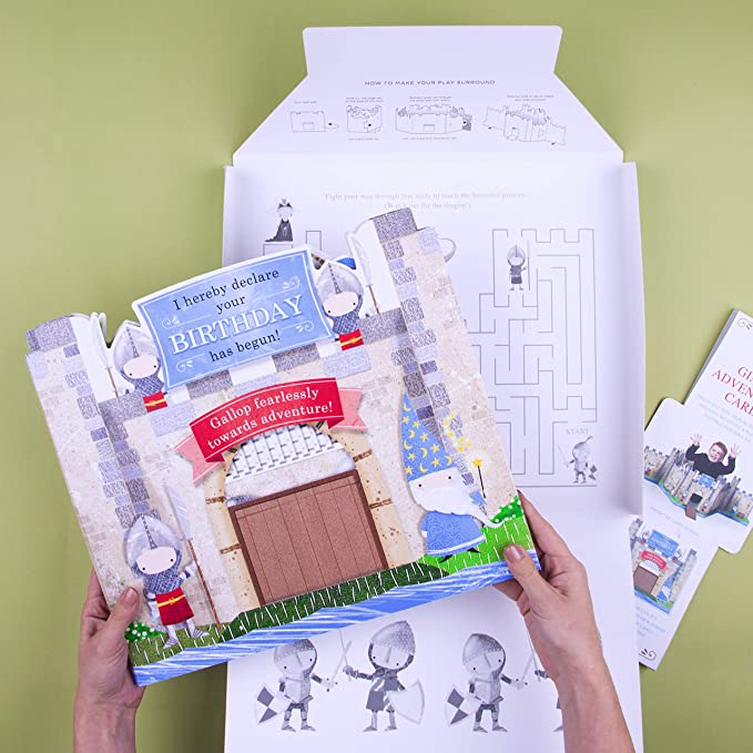 Amazon.com: Tarjeta gigante de aventura de cumpleaños ...