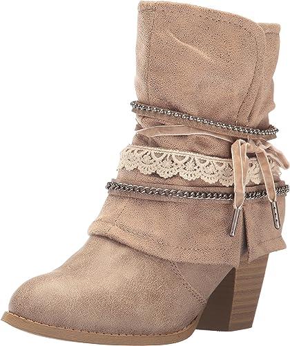 Jellypop Women's Fedora Slouch Boot