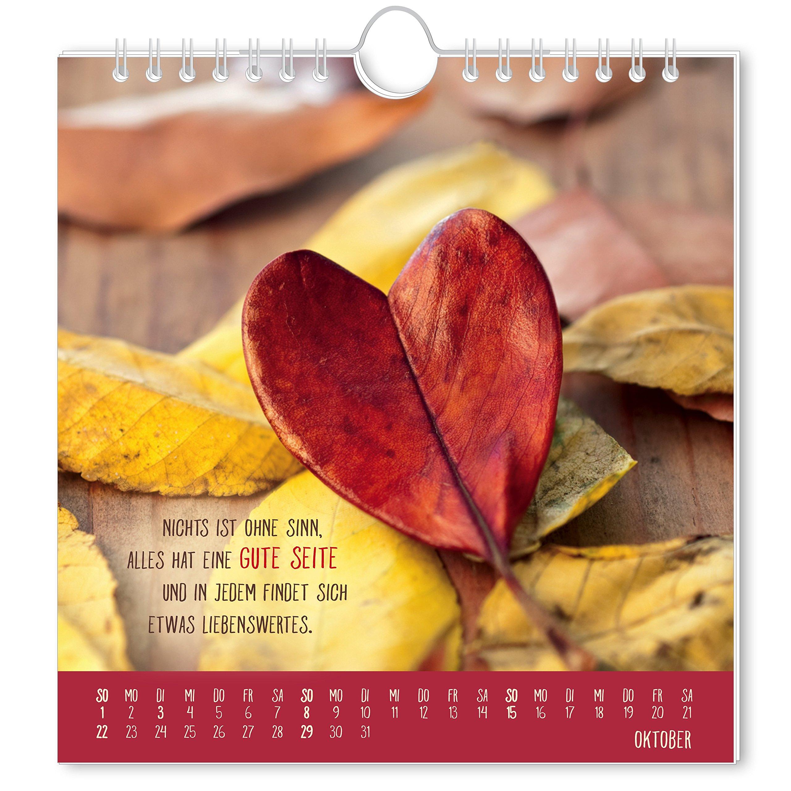 Herzenswünsche 2017 Postkartenkalender 9783862293902