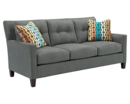 amazon com broyhill jevin sofa slate kitchen dining