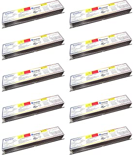 10 ballastwise dxe4h8u-lbf ballasts for 4 32 watt t8 lamps with universal  input voltage