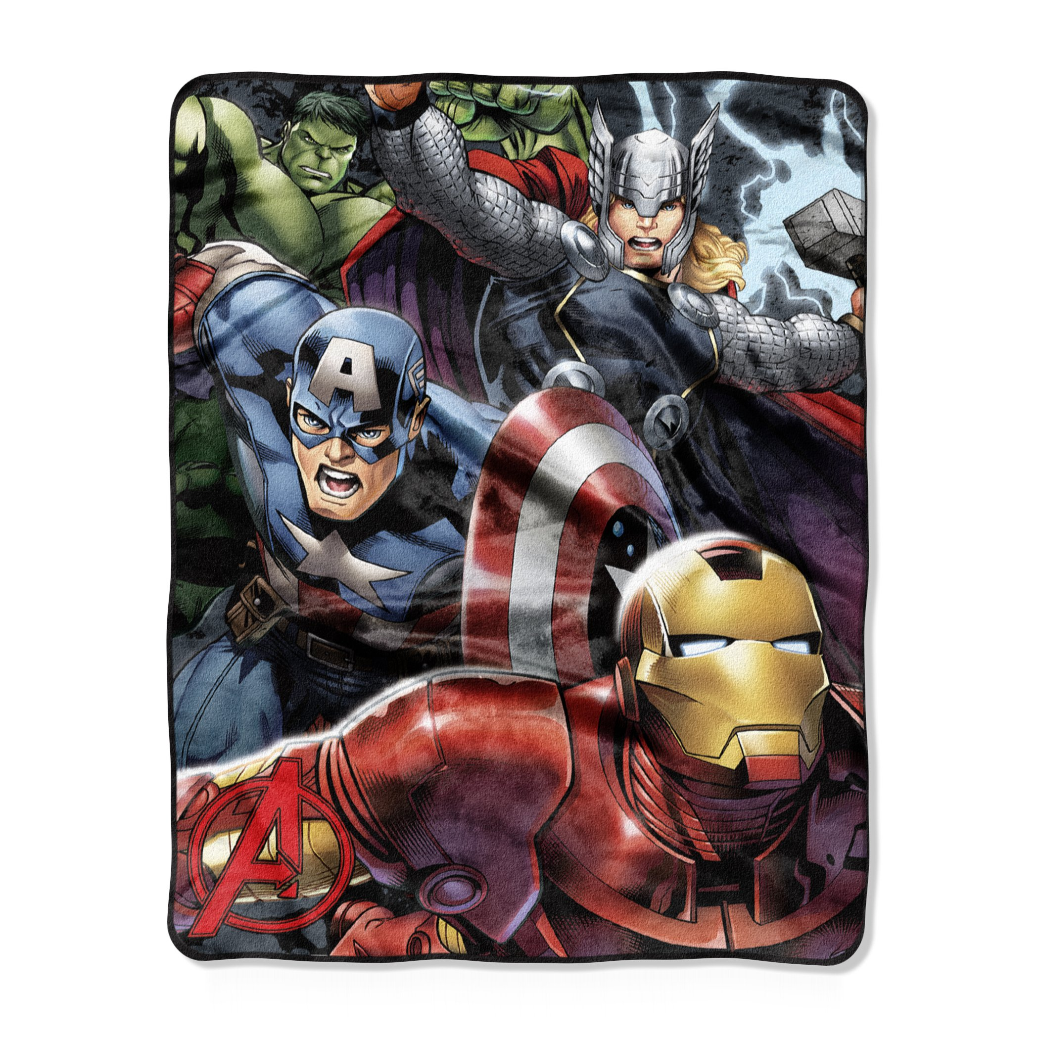 Marvel Avengers ''Teammates'' Silk Touch Throw Blanket, 40'' x 50''