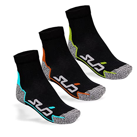 UNISEX Running socksSPEED Special Padded protection points 2 Pair Original VCA/® Performance Quarter