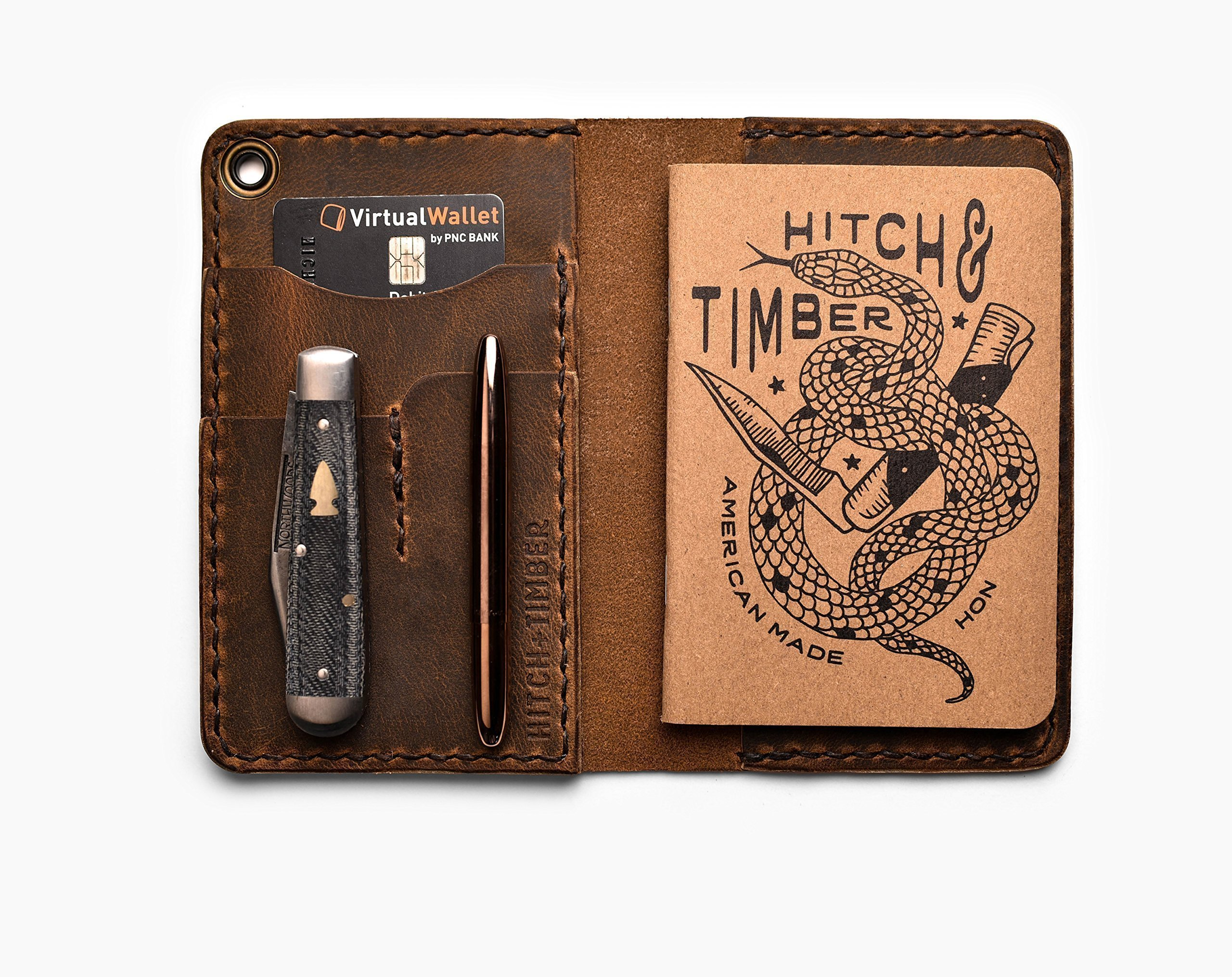 The County Fold Wallet ~ Journal Cover ~ Wallet ~ Horween by Hitch & Timber