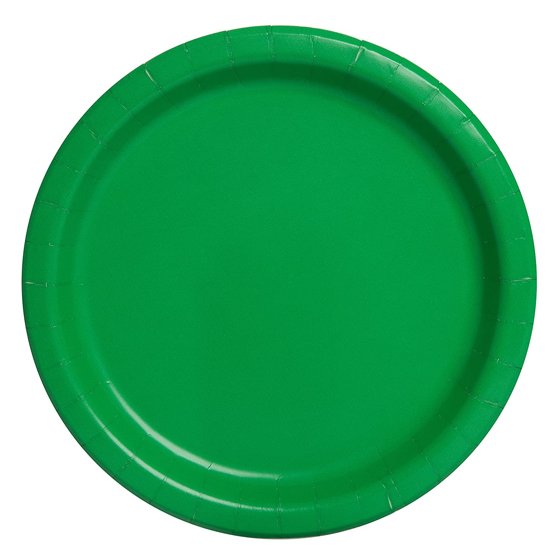 Hot Pink Dinner Plates, 16ct Unique 31250
