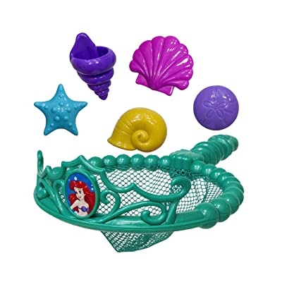 SwimWays Disney Princess Ariel Tiara Net - Swimming Dive and Catch Games - Mermaid Pool Toys: Toys & Games