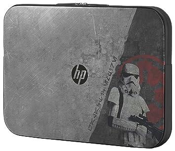 HP Star Wars SE Sleeve - Funda (Funda, Negro, Gris, Imagen, Resistente a rayones, HP Pavilion 15 Star Wars SE): Amazon.es: Informática